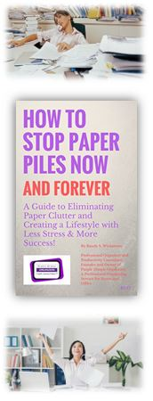 How to Stop Paper Piles Now and Forever