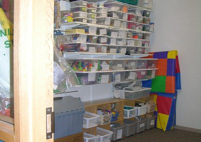 Crafts Storage After