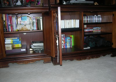 Entertainment Center After