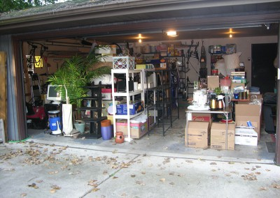 Garage Before