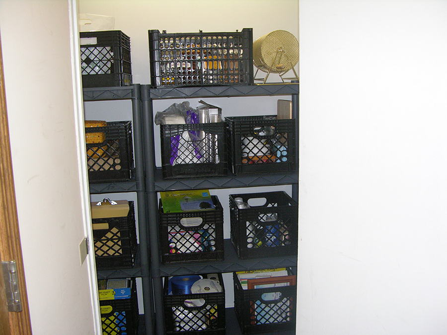 Workplace Storage After