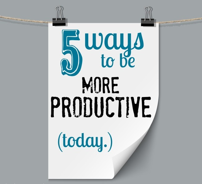 5 Ways to Make your New Year More Productive