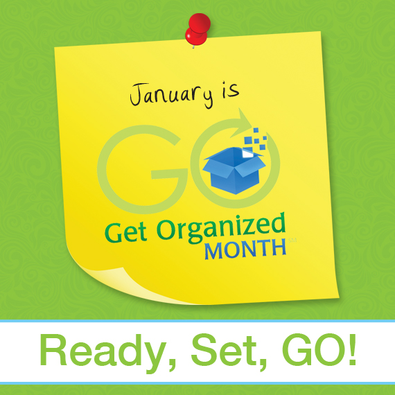 5 Ways to Make your New Year's Resolution to Get Organized a Reality